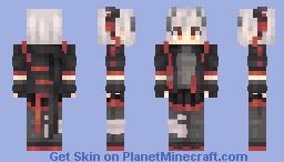 W - ArkNights Minecraft Skin