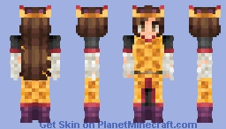 The Waffle Lord Minecraft Skin