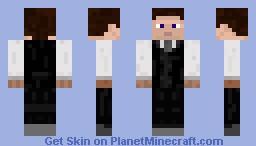 SkyClub Waiter Minecraft Skin