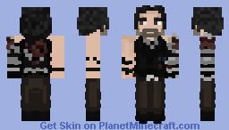 Johnny Silverhand | Cyberpunk 2077 Minecraft Skin
