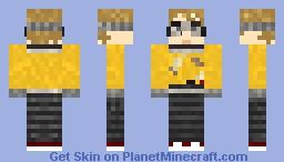 Boy dressed as Wall-E (Halloween special) Minecraft Skin