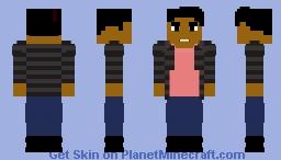 "Wallace ""Wally"" West - CW Minecraft Skin"