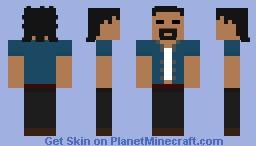 (OSRS) Runescape Character Minecraft Skin