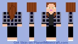 Wanda Maximoff (WandaVision 1x07) Minecraft Skin