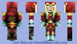 War - Darksiders Minecraft Skin
