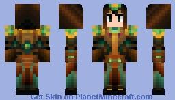 Young Warlock Minecraft Skin
