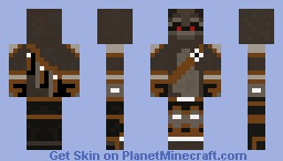 War Raccoon Minecraft Skin