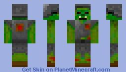 Orc Warrior Skin Minecraft Skin