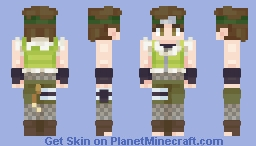 Wasabi Izuno Minecraft Skin