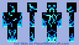 Water creeper Minecraft Skin
