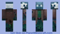 Monument Dweller Brewer Minecraft Skin