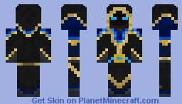 Water Mage (A pg5 skin) Minecraft Skin