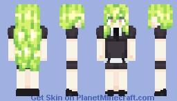 Watermelon Tourmaline - Houseki no Kuni: Rebuild & Shatter Minecraft Skin