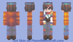 we are all pixels on a screen - rq Minecraft Skin