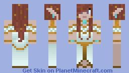 Elven Priestess Minecraft Skin
