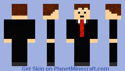 dude in tux Minecraft Skin