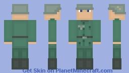 Wehrmacht (Germany) WW2 Skin Minecraft Skin