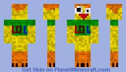 Chicken Minecraft Skin