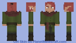 [✾] roaming in the woodlands Minecraft Skin