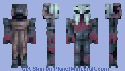 Wendigo Minecraft Skin