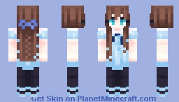 🧚Think of the happiest things, it's the same as having wings🧚 Minecraft Skin