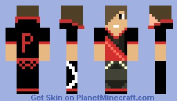 We're Miners and we Know it Red Guy Minecraft Skin