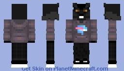 MrBeast Merch [Werewolf Series] Minecraft Skin