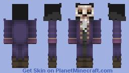 Werewolf in Purple Tux. & Mask