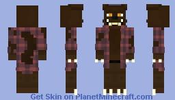Werewolf Animatronic - by harperhusky (2020) Minecraft Skin