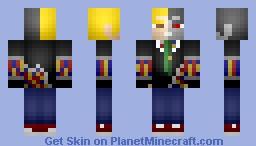 Cyberpunk Groom Minecraft Skin