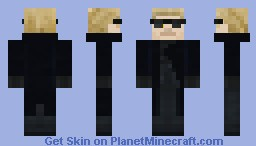 Albert Wesker Costume 3 Minecraft