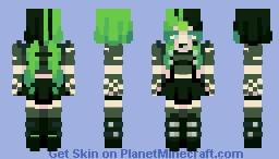 + ᴍᴇᴅᴜꜱᴀ + popreel! Minecraft Skin
