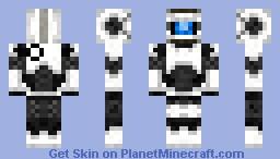 Wheatley skin Minecraft Skin