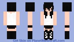 Rebel Girl [reмαde] Minecraft Skin
