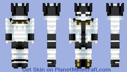 Whitesnake ~ JJBA 🌟 Minecraft Skin