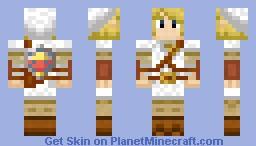 White Tunic Link Minecraft