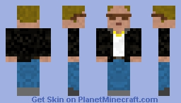 Whitey Bulger Minecraft Skin