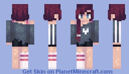 oh lover be good to me Minecraft Skin