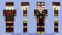 Don't ride an airship if the pilot is blind Minecraft Skin
