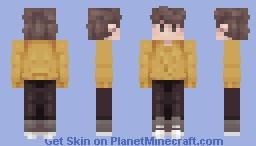 wilbur soot . casual sweater Minecraft Skin