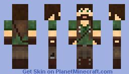 Wilderness Adventurer Minecraft Skin