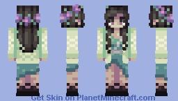 Wildflowers Minecraft Skin
