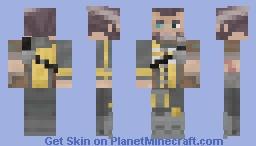 Wilhelm [Borderlands: The Pre-Sequel] Minecraft Skin