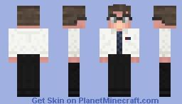 William 'Bill' Foster (D-Fens) - Falling Down Minecraft Skin