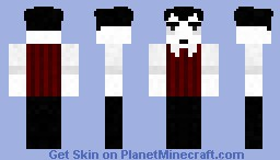 Wilson (From Don't Starve) Minecraft Skin
