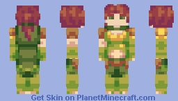 Windranger (Dota 2) (Kawaii version in description!) Minecraft Skin