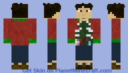 Winter Sweaters Skin Minecraft Skin