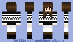 Winter Girl Minecraft Skin