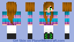 "*10 Subscribers!* ""Winter Chic"" Minecraft Skin"