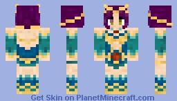 ♥Wise Dragon Girl (REQUEST)♥ Minecraft Skin